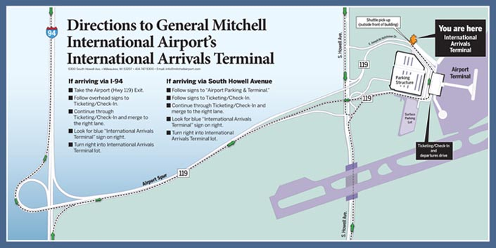 International Arrivals Terminal Mitchell Airport