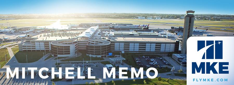 Mitchell Memo with Arial Image of Airport